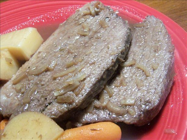 Cranberry Pot Roast Brisket