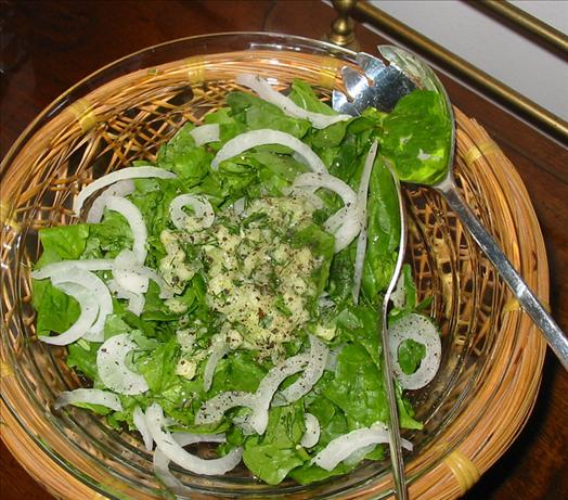 Spinach & Dill Salad
