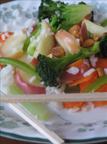 Vegetarian Apple Stir-Fry