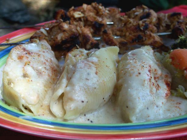 Chicken Stuffed Shells