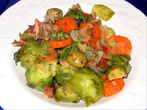 Not Your Average Brussels Sprouts