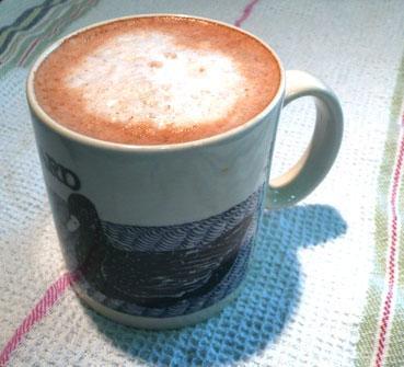 Hot Cinnamon Coffee