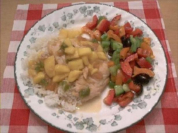 Easy Mango Chicken