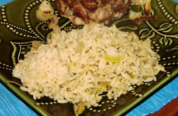 Rice Pilaf with Herbs
