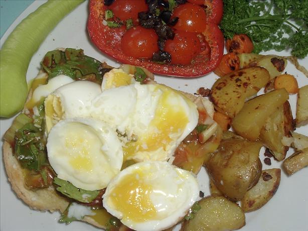 Cilantro Eggs