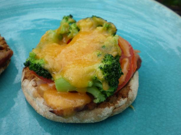 Broccoli and Cheese Breakfast Melts