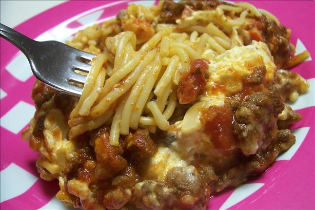 Winner's Spaghetti Casserole