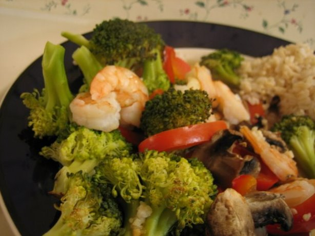 Sesame Ginger Shrimp and Vegetable Packets