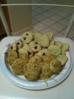 Pistachio Coconut Cookies