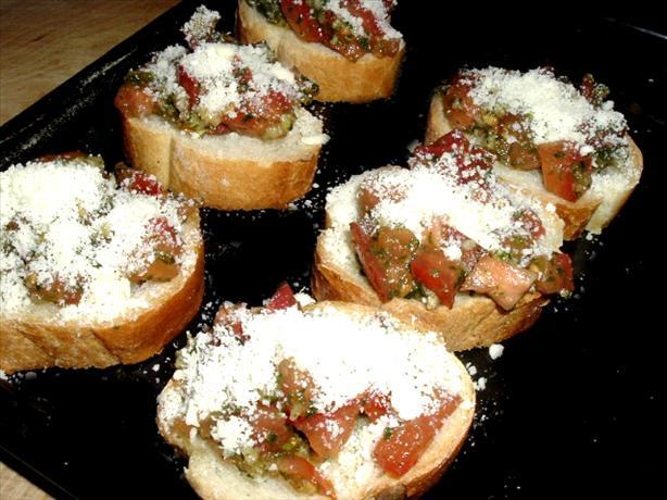 Bruschetta (Garlicky)