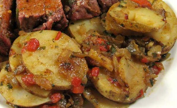 Basque-Style Potatoes