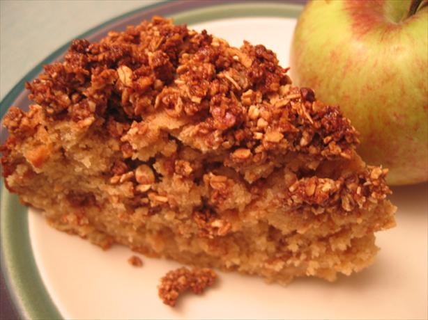 Apple-Oat Coffee Cake