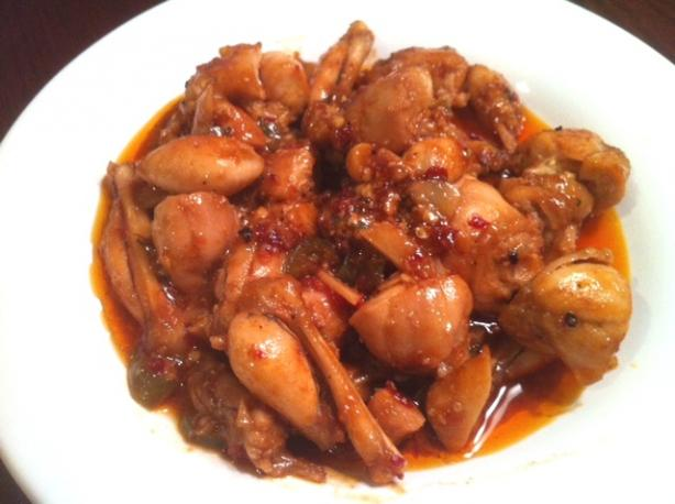Stir-Fried Garlic Frog's Legs