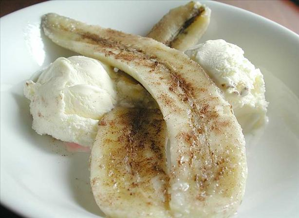 Grilled Bananas