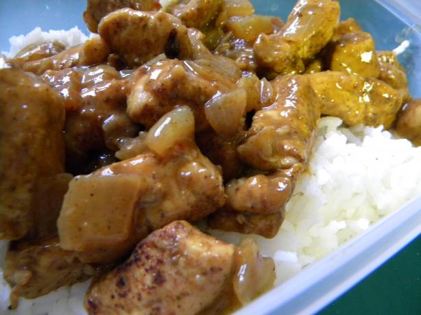 Coconut Curried Chicken