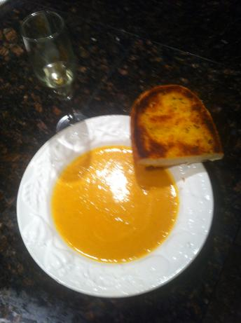 Pumpkin Garlic Soup