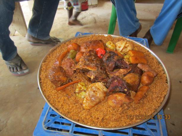 Poulet Yassa (Chicken Yassa) from Africa