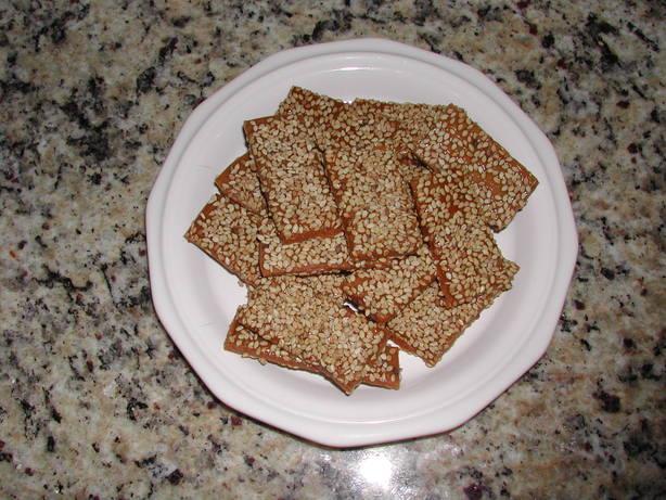 Sesame Toffee