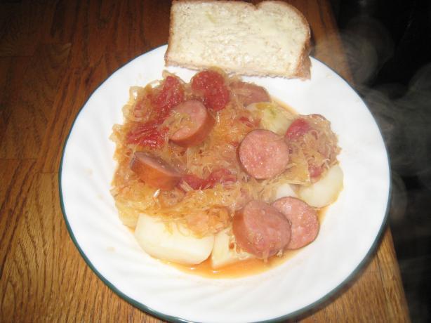 Sweet & Sour Sauerkraut (Bayrich Kraut)