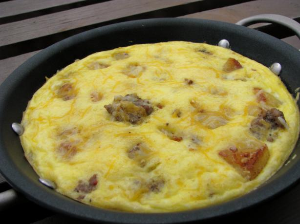 Sausage, Potato and Egg Skillet