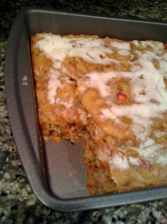 Wendy's Rhubarb Stir Cake