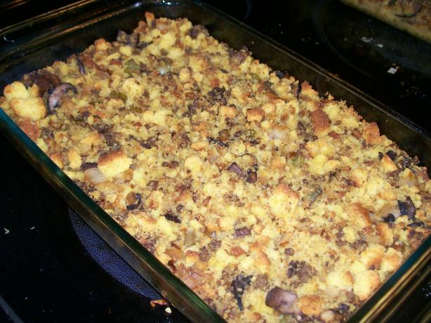 Home For Thanksgiving Fried Cornbread Dressing