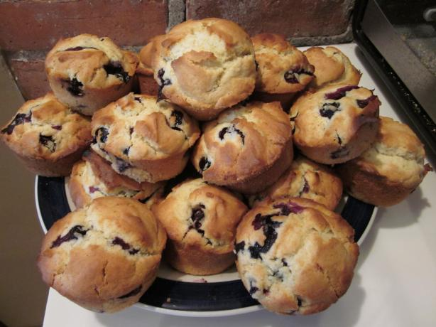 Tims' Mom's Blueberry Muffins