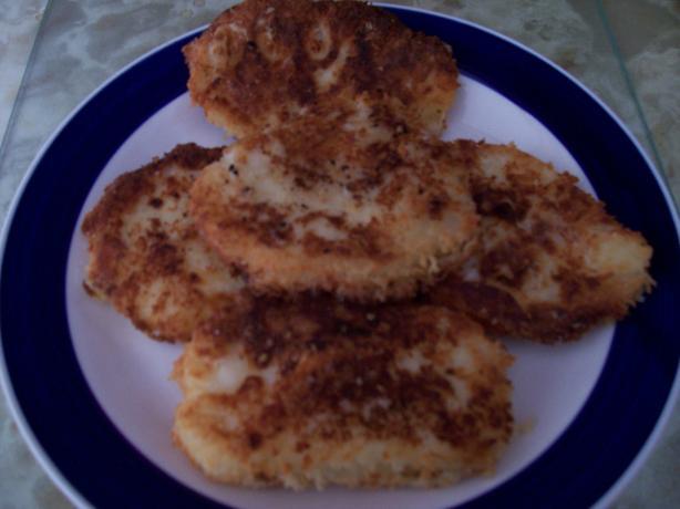 Fried Mashed Potatoes