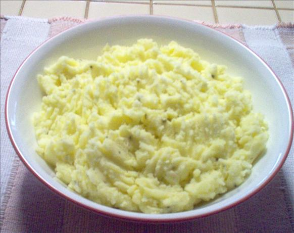Creamy Mashed Potatoes with Chives
