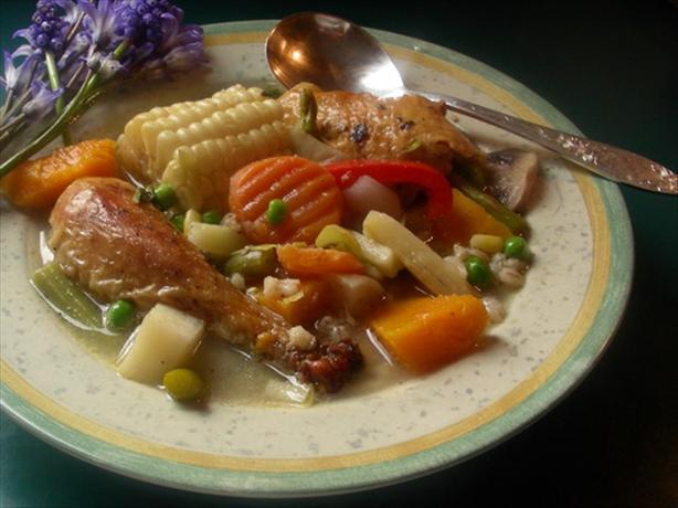 Argentine Chicken Stew (Cazuela Gaucho)