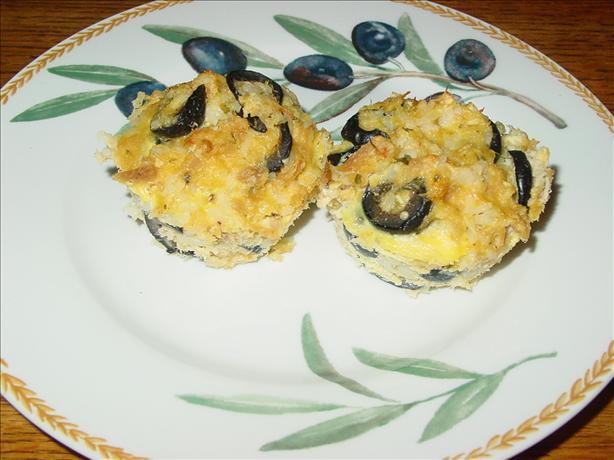 Cheesy tuna & rice muffinettes
