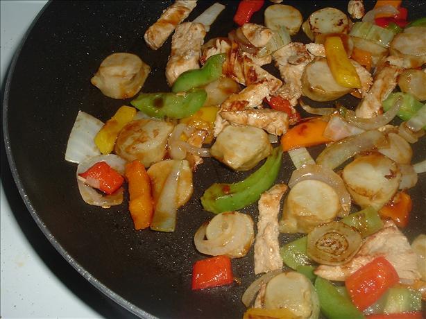 Jerusalem Artichoke Stir Fry