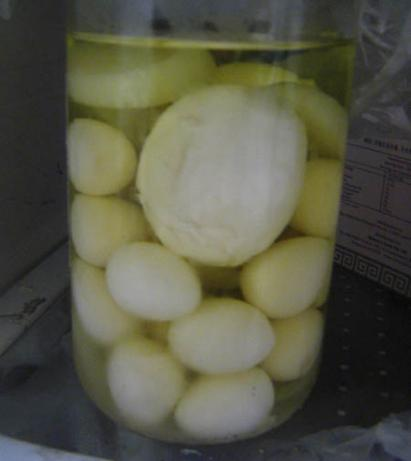 Sweet Pickled Eggs