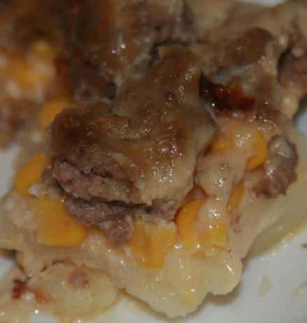 Hamburger and Potato Casserole