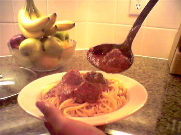 Perruso's Spaghetti and Meatballs