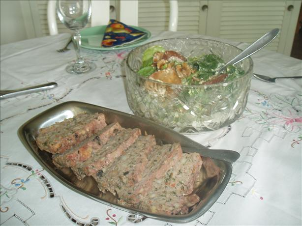 Spinach Meatloaf
