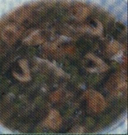 Mushroom and Pea Soup