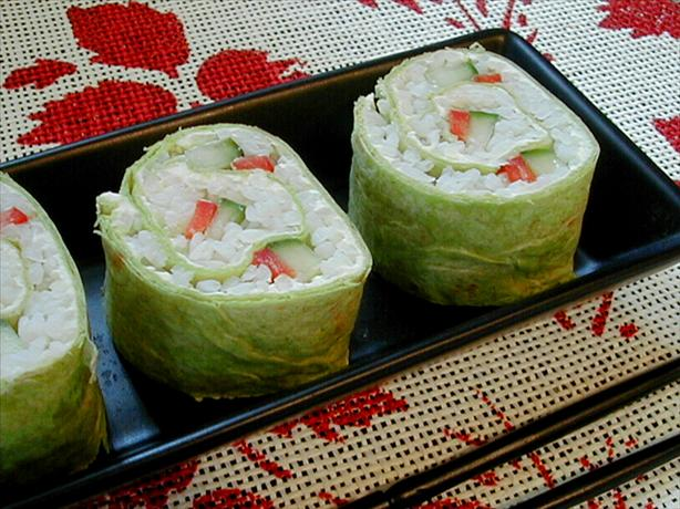 Sushi-Style Roll-Ups