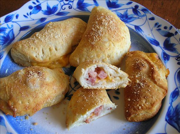 Cheese and Ham Pockets