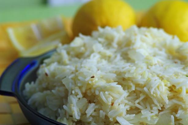 Orange Sesame Rice