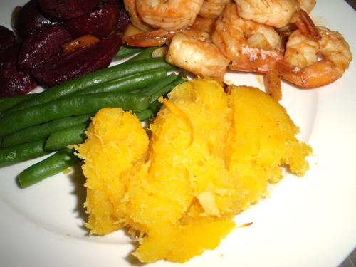 Squash with Ginger and Orange