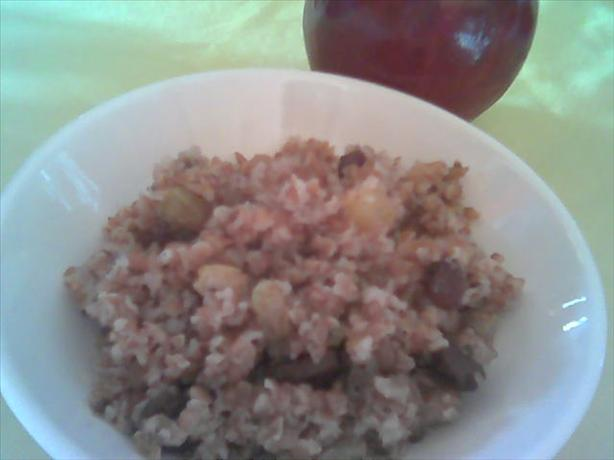 Raisins, Nuts n' Bulgur