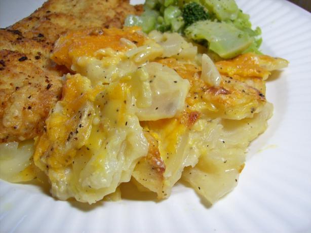 Cheating Scalloped Potatoes