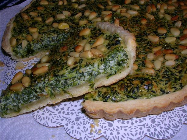 Spinach Tart - Spinach Pie