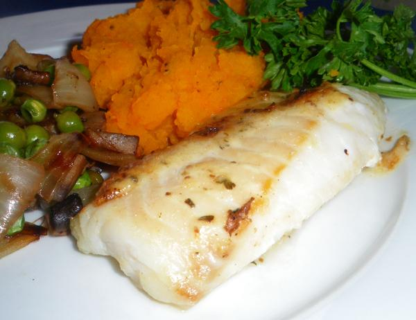 BBQ Herb & Garlic Fish