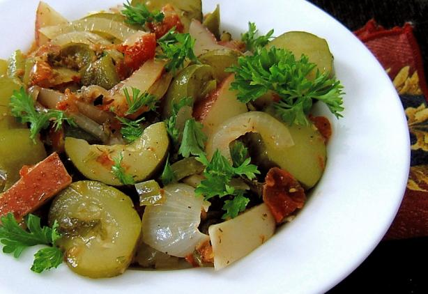 Briami Ala Bergy (Vegetable Casserole)