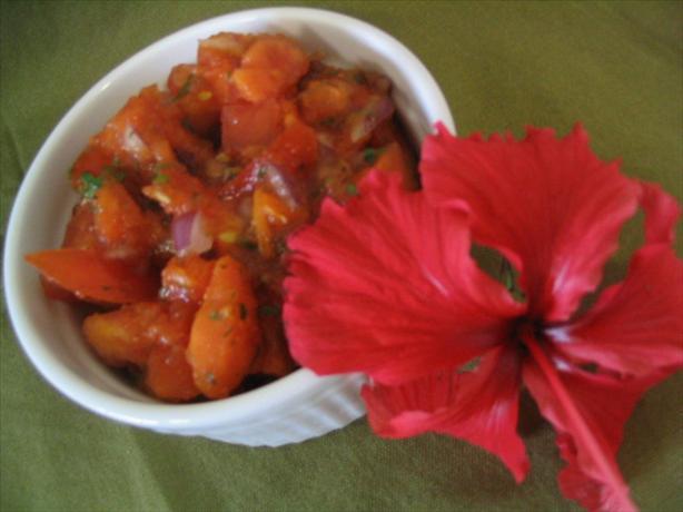 Tomato-Papaya Salsa