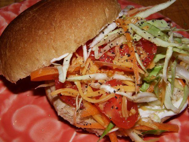 Garden Vegetable Sandwich