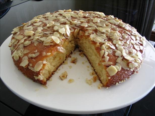 Buttered Almond Cake