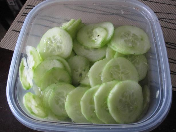 Simple Cucumbers